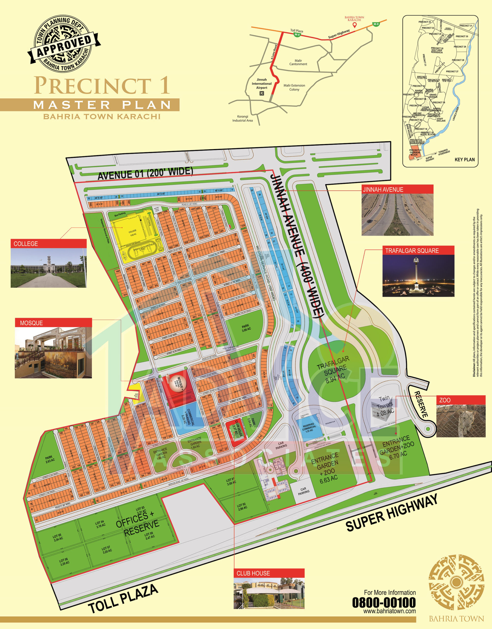 bahria town karachi precinct 1 booking