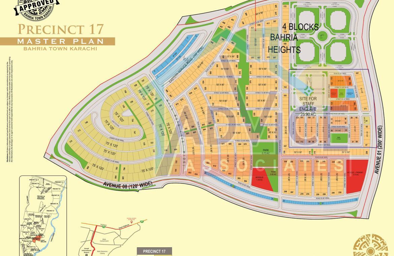 bahria town karachi precinct 17 booking