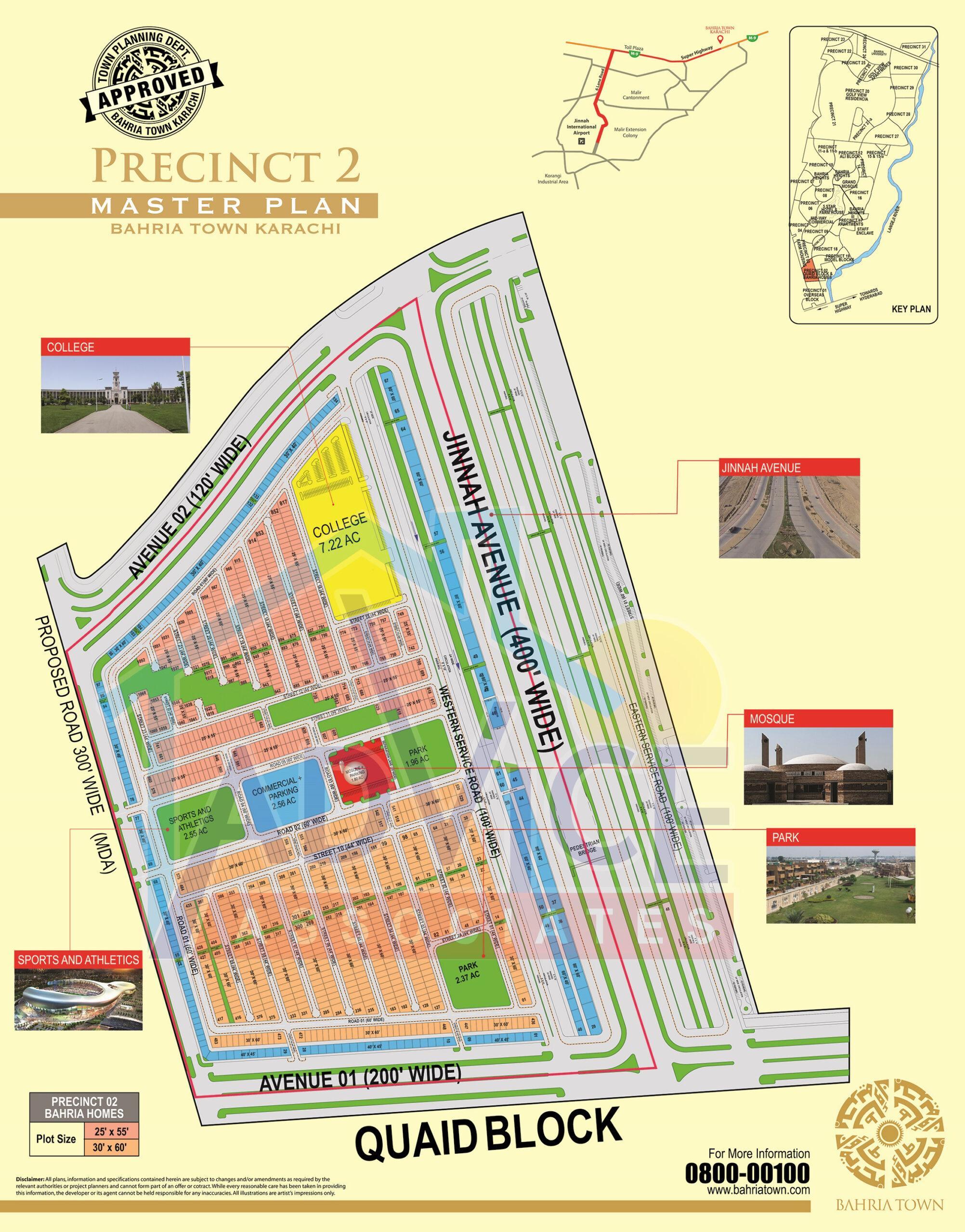 bahria town karachi precinct 2 booking