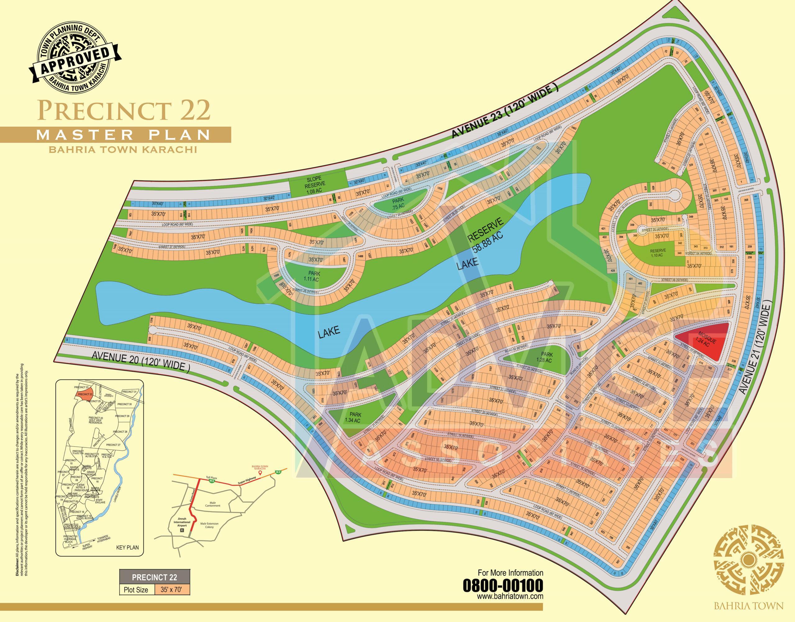 bahria town karachi precinct 22 booking