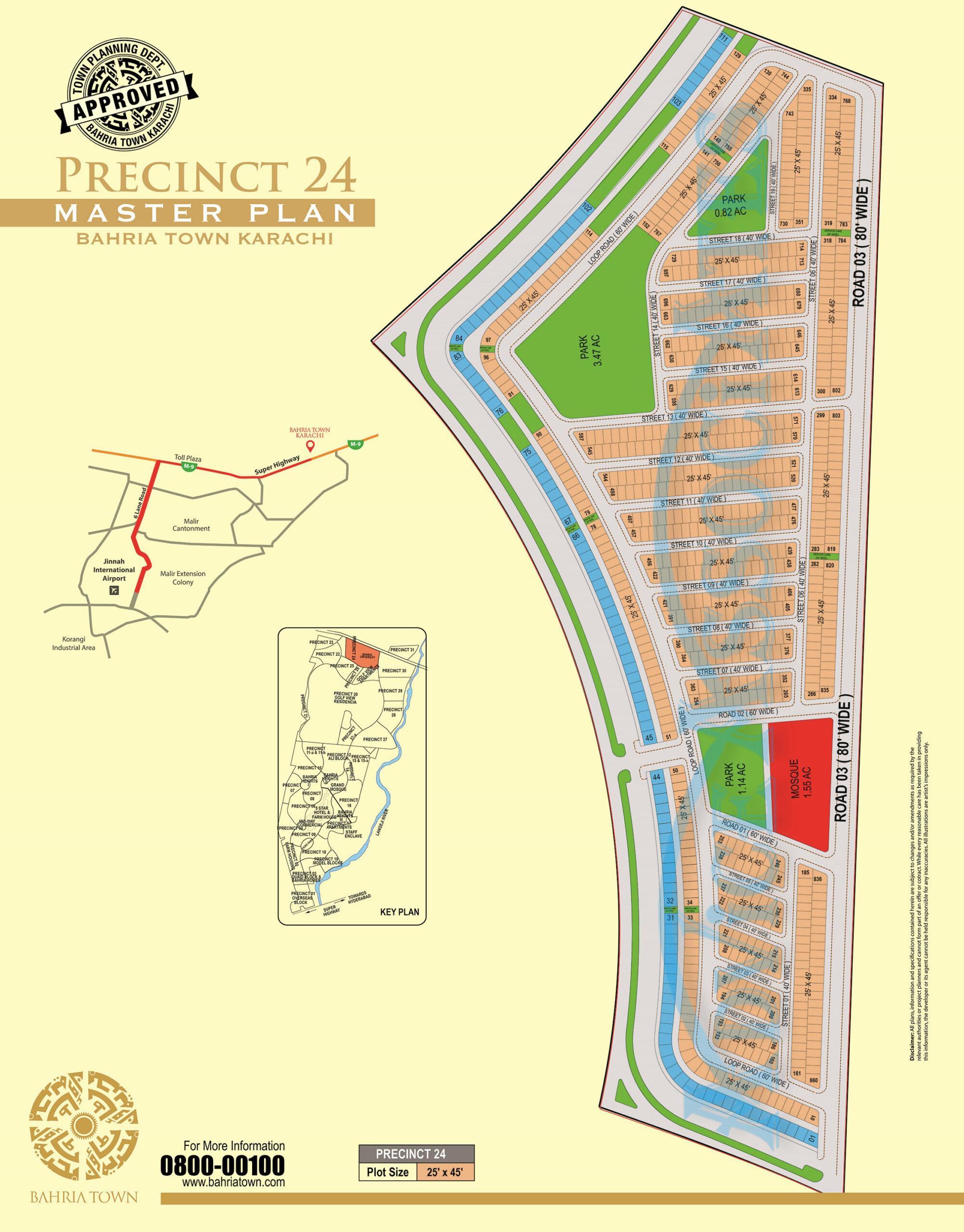 bahria town karachi precinct 24 booking