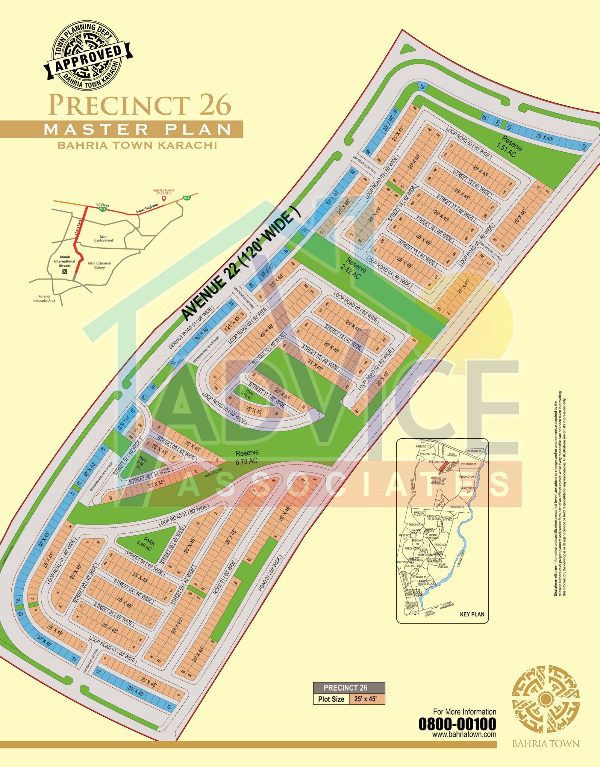 bahria town karachi precinct 26 booking