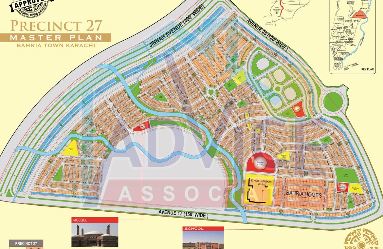bahria town karachi precinct 27 booking