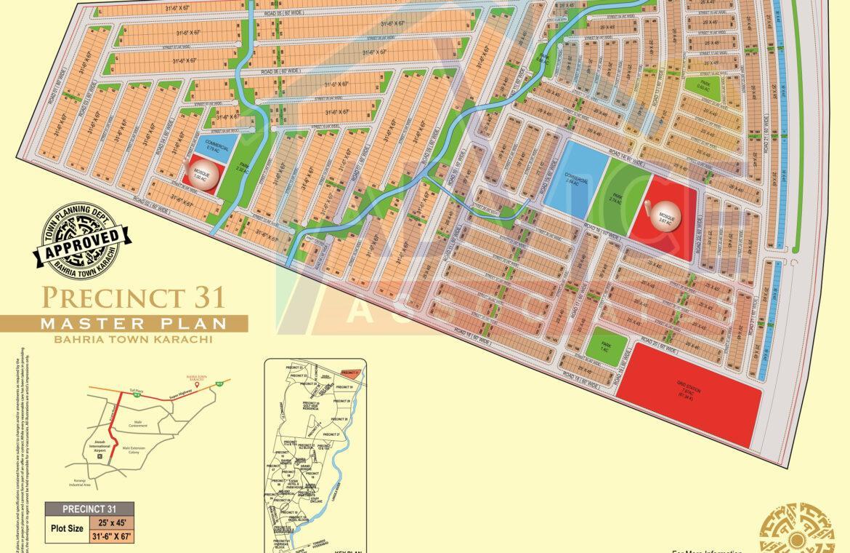 Bahria Town Karachi Precinct 31 Booking Starts From 14500000 bahria town karachi precinct 31precinct 31 booking