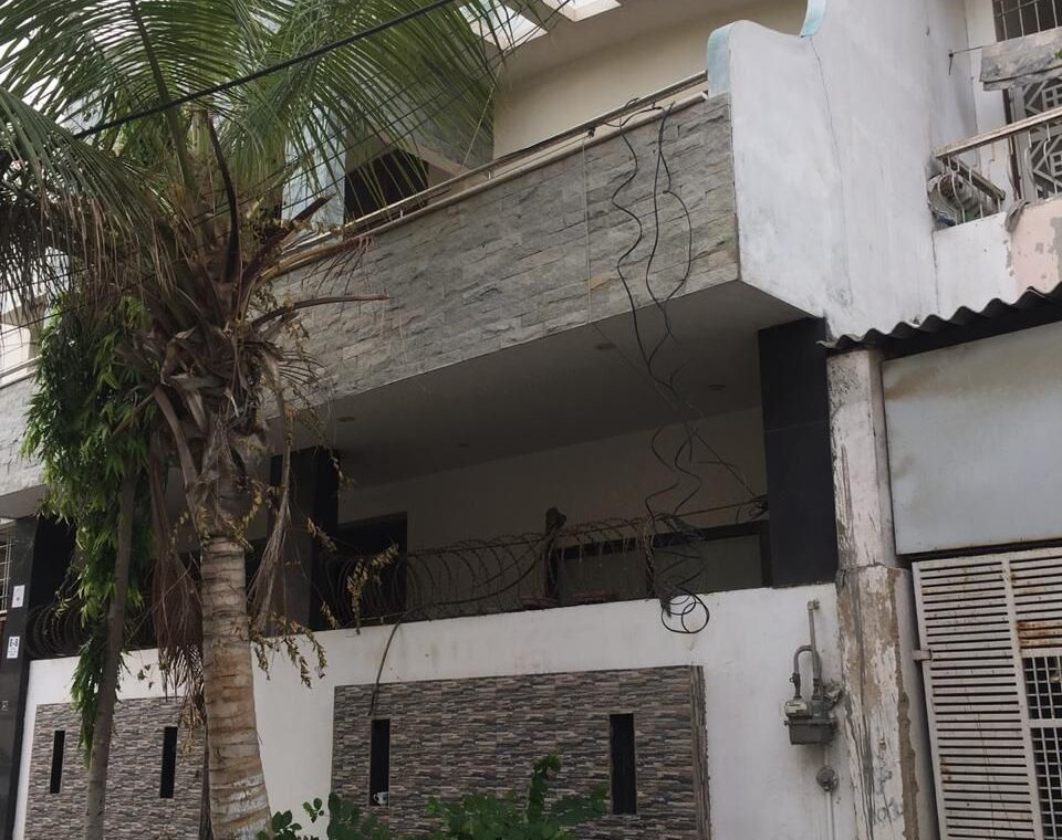 266 Sq Yd Leased Double Story Bungalow for Sale in Gulshan e Jamal Karachi